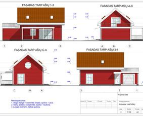 Architektas, projektavimas / RN projektai / Darbų pavyzdys ID 533979