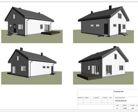 Architektas, projektavimas / RN projektai / Darbų pavyzdys ID 533987