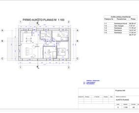 Architektas, projektavimas / RN projektai / Darbų pavyzdys ID 533989