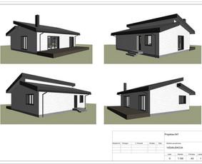 Architektas, projektavimas / RN projektai / Darbų pavyzdys ID 533999