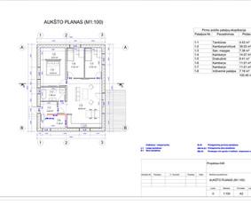 Architektas, projektavimas / RN projektai / Darbų pavyzdys ID 534001