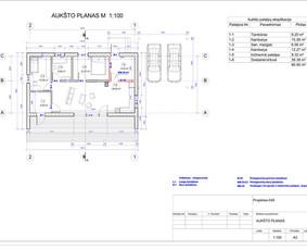 Architektas, projektavimas / RN projektai / Darbų pavyzdys ID 534007