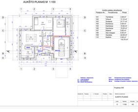 Architektas, projektavimas / RN projektai / Darbų pavyzdys ID 534013