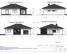 Architektas, projektavimas / RN projektai / Darbų pavyzdys ID 534015