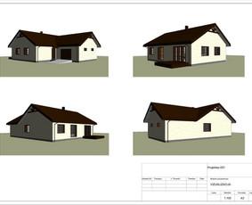 Architektas, projektavimas / RN projektai / Darbų pavyzdys ID 534023