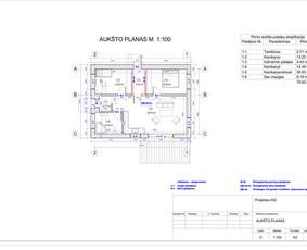 Architektas, projektavimas / RN projektai / Darbų pavyzdys ID 534025