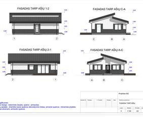 Architektas, projektavimas / RN projektai / Darbų pavyzdys ID 534027