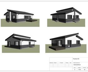 Architektas, projektavimas / RN projektai / Darbų pavyzdys ID 534029