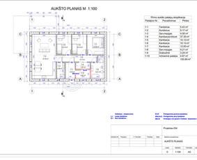 Architektas, projektavimas / RN projektai / Darbų pavyzdys ID 534037