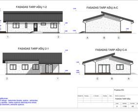 Architektas, projektavimas / RN projektai / Darbų pavyzdys ID 534039