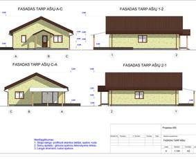 Architektas, projektavimas / RN projektai / Darbų pavyzdys ID 534045