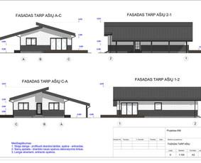 Architektas, projektavimas / RN projektai / Darbų pavyzdys ID 534051