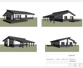 Architektas, projektavimas / RN projektai / Darbų pavyzdys ID 534053