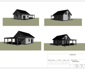 Architektas, projektavimas / RN projektai / Darbų pavyzdys ID 534065