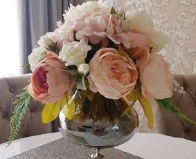 Dirbtinių gėlių kompozicijos / Rūta Čekanavičiūtė / Darbų pavyzdys ID 535417