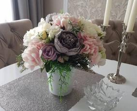 Dirbtinių gėlių kompozicijos / Rūta Čekanavičiūtė / Darbų pavyzdys ID 535421