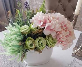 Dirbtinių gėlių kompozicijos / Rūta Čekanavičiūtė / Darbų pavyzdys ID 535425