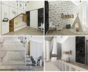 Udizainas - interjero dizainas / Ugnė Stasionė / Darbų pavyzdys ID 536671