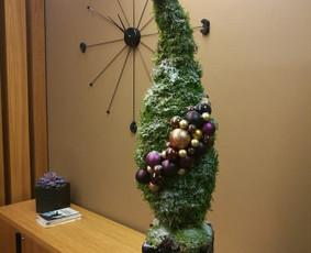 Kalėdinės dekoracijos namams, ofisams