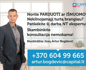 Sertifikuotas nekilnojamojo turto brokeris Vilniuje / Artur Bogdevič / Darbų pavyzdys ID 538797