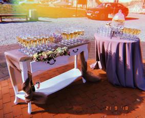 Vaišių staliukas po ceremonijos / Indrė / Darbų pavyzdys ID 540973