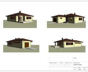 Architektas, projektavimas / RN projektai / Darbų pavyzdys ID 541675