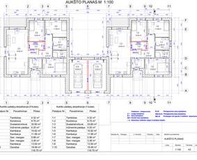 Architektas, projektavimas / RN projektai / Darbų pavyzdys ID 541701