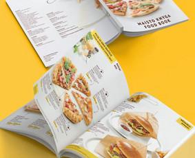 Čili Pizza meniu knyga