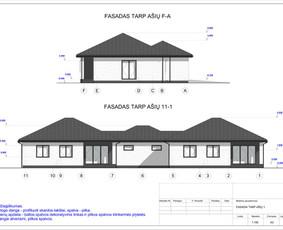 Architektas, projektavimas / RN projektai / Darbų pavyzdys ID 542377