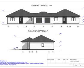 Architektas, projektavimas / RN projektai / Darbų pavyzdys ID 542379