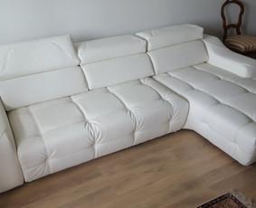 Minkštųjų baldų, kėdžių, minkštasuolių pervilkimas, remontas