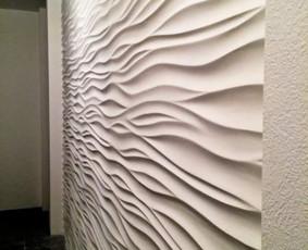 3D gipsinės sienos, sienų  dažymas, būsto aptarnavimas