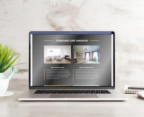 Svetainė + Dizainas + Greitis + Funkcionalumas + Garantija