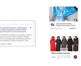 Pardavimų didinimas internetinės reklamos pagalba / Eglė Tertelė / Darbų pavyzdys ID 549867
