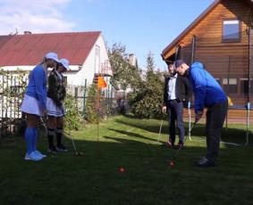 Golfink- žaisk tikrą golfą savo kieme!