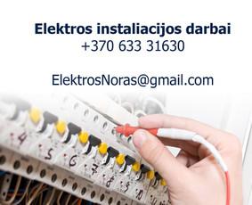 Elektrikas Kaune Elektros instaliacija