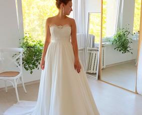Išsvajotos vestuvinės suknelės kūrimas ir siuvimas / ReCut / Darbų pavyzdys ID 557029