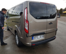 Naujų Ford Tourneo Custom nuoma
