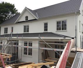 Medinių namų (rąstinių, karkasinių, skydinių)gamyba, statyba
