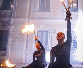Ugnies Teatro šou / Ugnies teatras / Darbų pavyzdys ID 561341