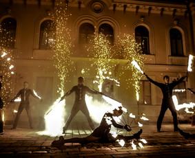 Ugnies Teatro šou / Ugnies teatras / Darbų pavyzdys ID 561363