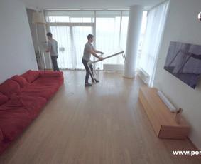 Medinių grindų atnaujinimas be šlifavimo