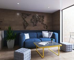 Interjero dizaino kūrimas su 3D Vizualizacijomis