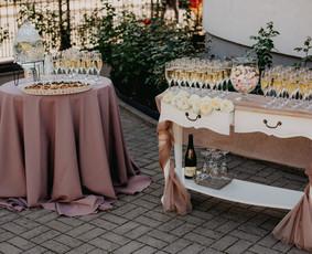 Vaišių staliukas po ceremonijos / Indrė / Darbų pavyzdys ID 563923