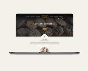 Interneto svetainių kūrimas, UX/UI dizainas