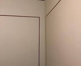 Gipskartonio montavimas, glaistymas- dažymas
