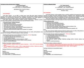 Profesionalus negrožinių tekstų redagavimas / Gita Kazlauskaitė / Darbų pavyzdys ID 566267