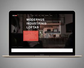 Interneto svetainių dizaino kūrimas