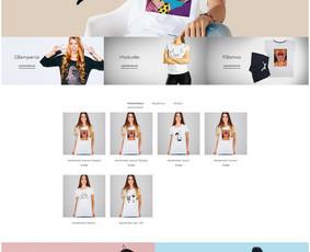 Interneto svetainių, el. parduotuvių kūrimas + Seo / Andrius Labunskas / Darbų pavyzdys ID 568401