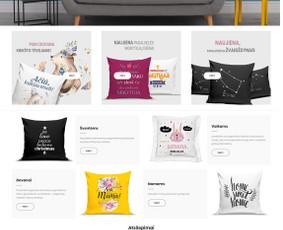 Interneto svetainių, el. parduotuvių kūrimas + Seo / Andrius Labunskas / Darbų pavyzdys ID 568403